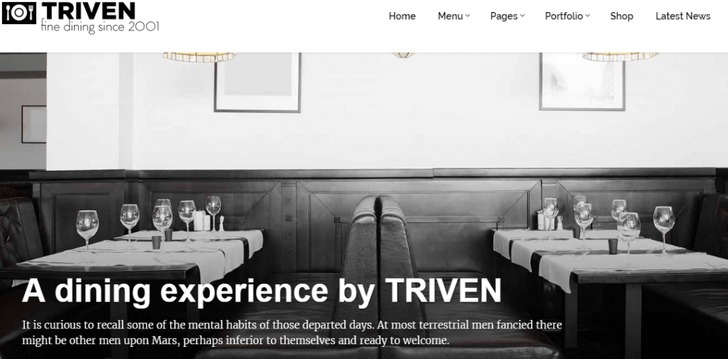 Triven WordPress Theme