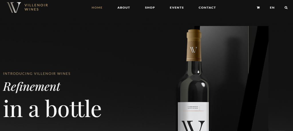 Winery Shop WordPress Theme