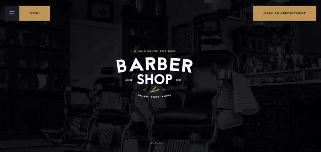 Tattoo Parlor WordPress Theme