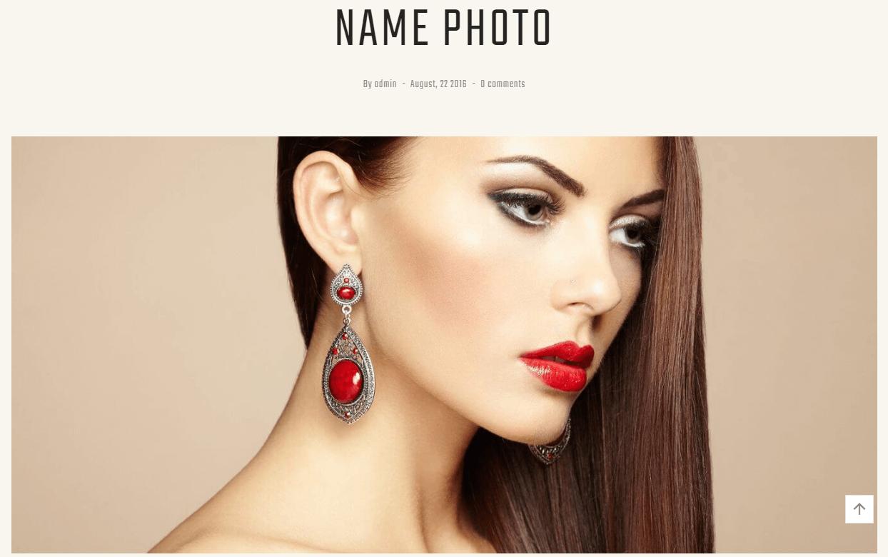 Handmade Jewelry Artist Theme