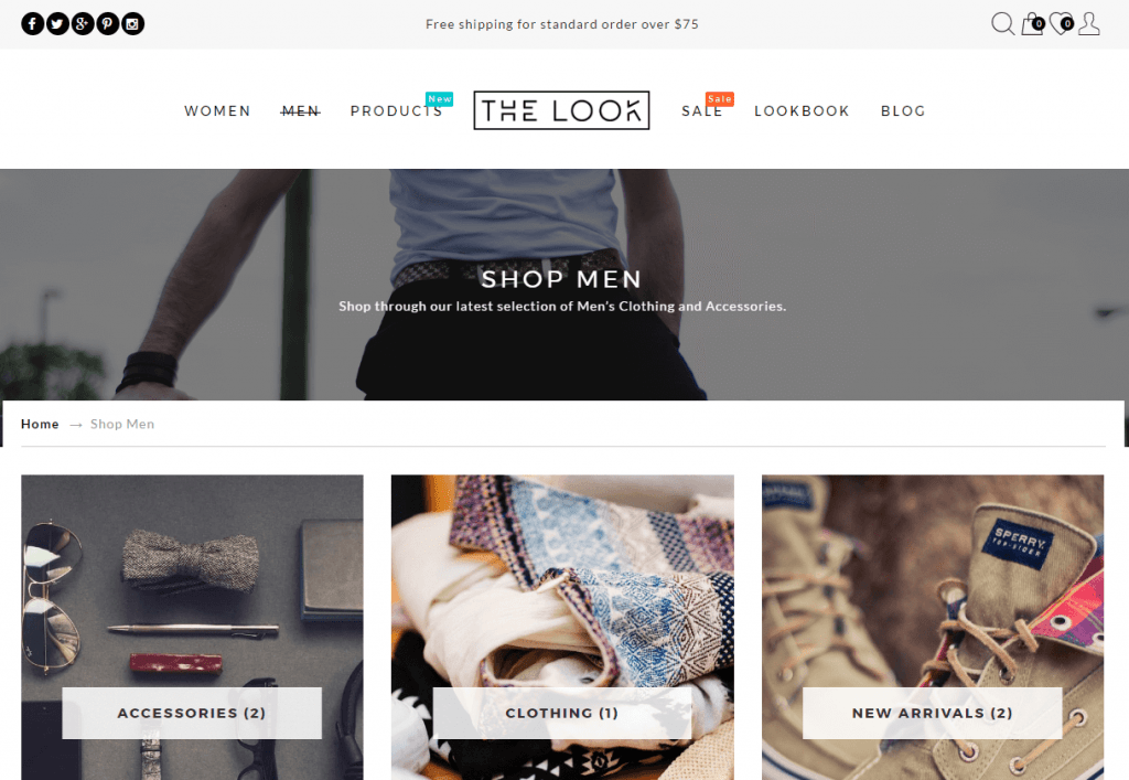 Clean & Responsive Fashion WordPress Theme
