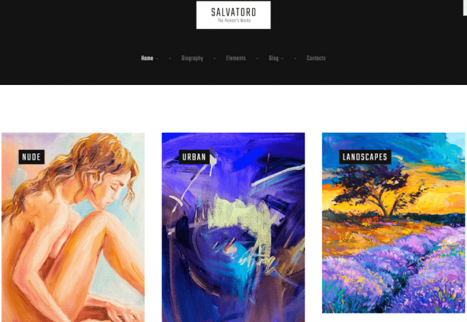 An Inclusive Portfolio WordPress Theme For Artists