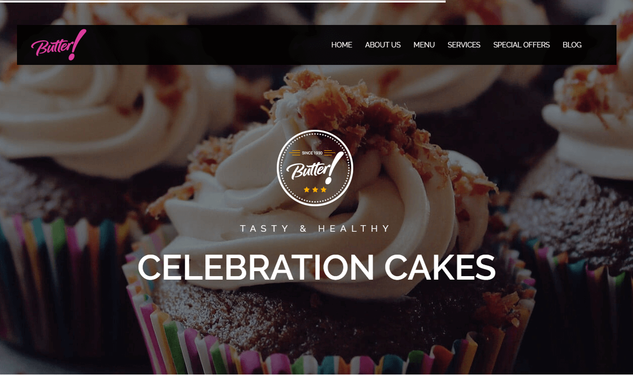Professional Bakery WordPress Theme