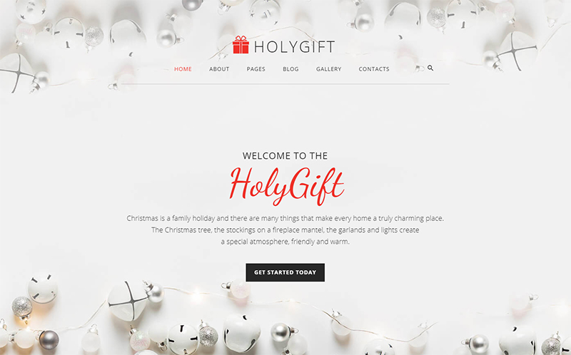 Christmas Gifts Store Joomla Template