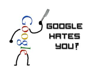google hates your site