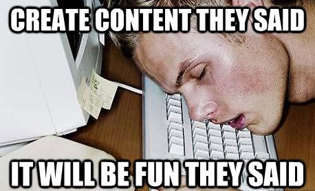 Content in SEO meme