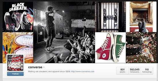 Converse Instagram