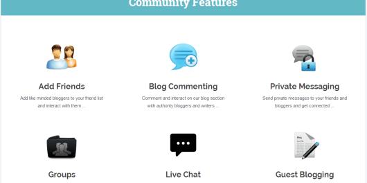 Blog Engage community