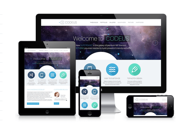 Best Responsive theme codeus