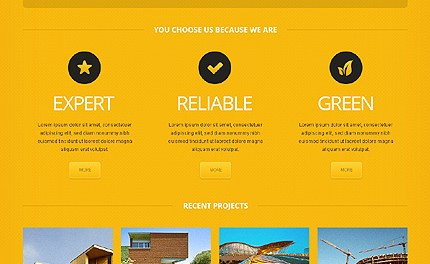 Building the Future - Construction Company Responsive WordPress Theme