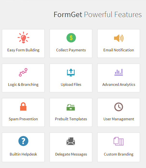 FormGet  all features