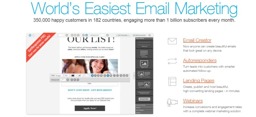 Saleshandy Vs Mailchimp VS Getresponse - Email Marketing Software