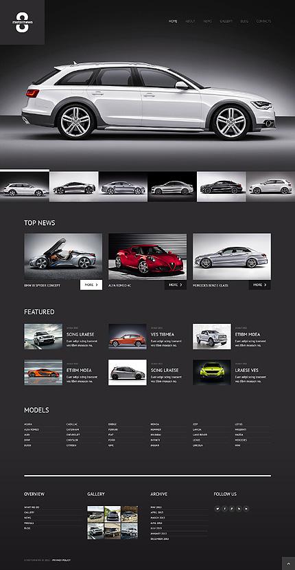 Elegant Car Club WordPress Theme