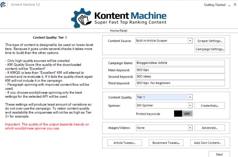 Kontent machine review tutorial