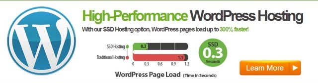 a2hosting fastest wordpress hosting