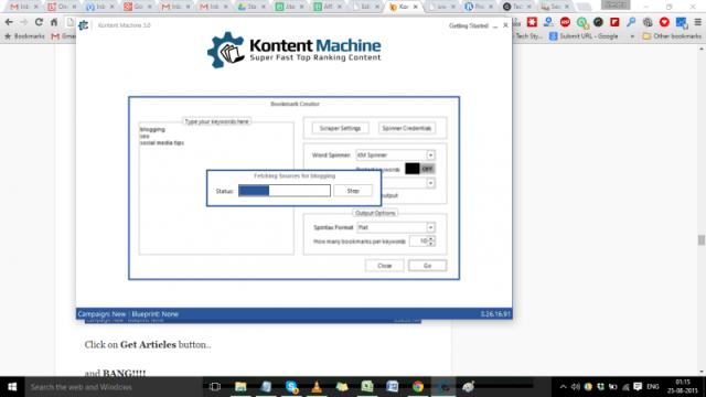 kontentmachine bookmark features