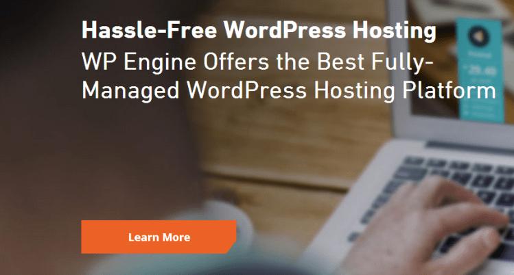 Best WordPress Hosting WP Engine