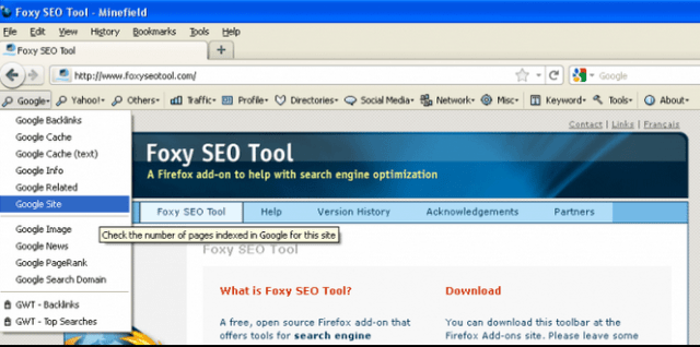 Foxy SEO Tool    Add ons for Firefox