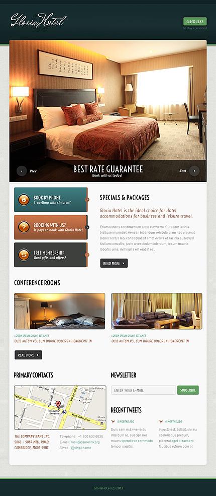 Hotels Facebook Template