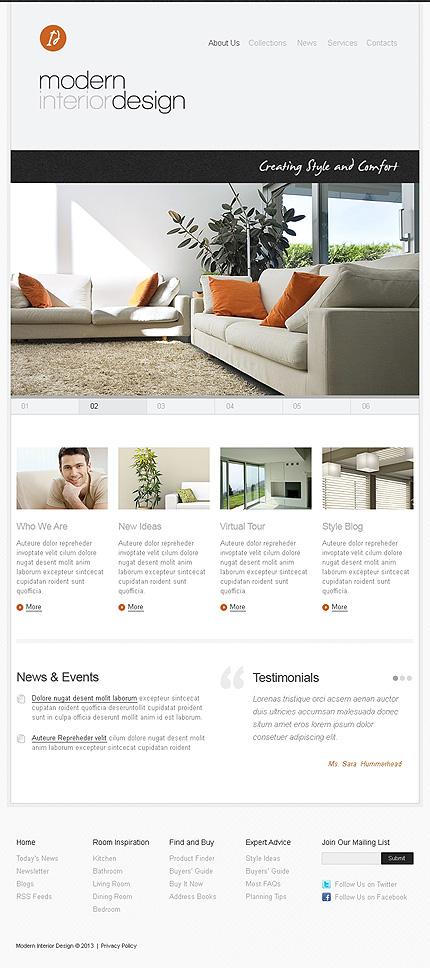 Interior Design Facebook Template (2)