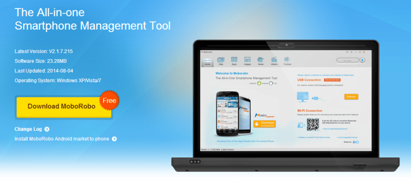 MoboRobo The Android Smartphone PC Manager