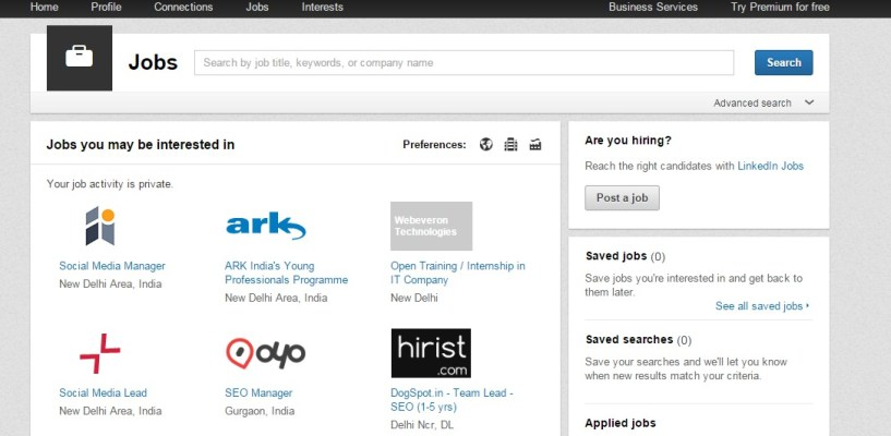 Jobs Home LinkedIn - freelance jobs in india