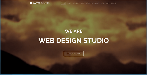 Larva HTML5 Responsive Template HTML Bootstrap Template BootstrapBay