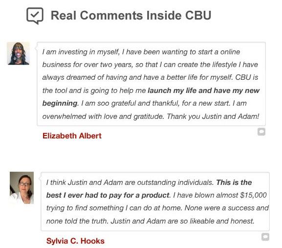 Clickbank University Review Testimonials