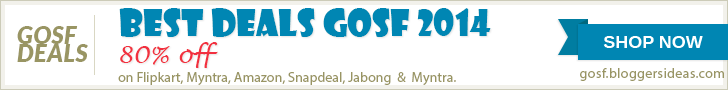 Gosf 2014 Shopping festival Banner Ad 5