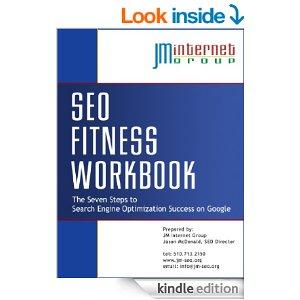 SEO Fitness Workbook written by - Jason McDonald