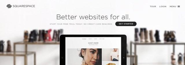 Squarespace blog platform