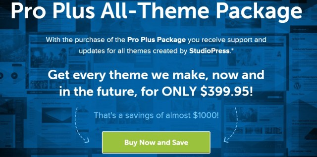 StudioPress Themes Blackfriday 2014
