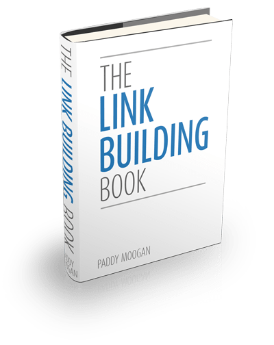 The Link Building Book written by Paddy Moogan