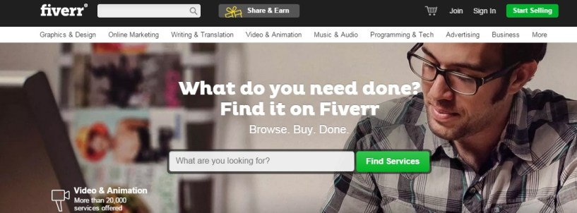 Fiverr - How to Make Money With Fiverr