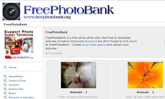 FreePhotosBank