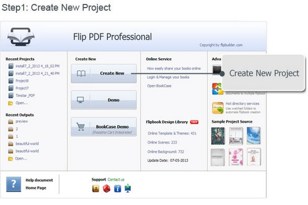 Flip PDF Professional how to do