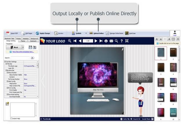 Flip PDF Professional Review how to do 3