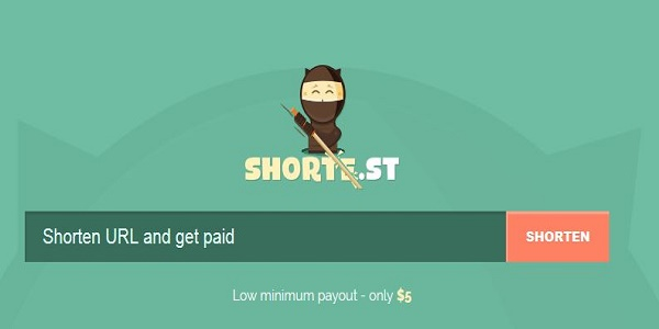 Shorte.st Review earn money