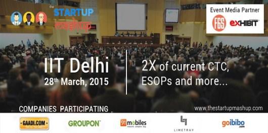 The Startup Mashup in IIT Delhi