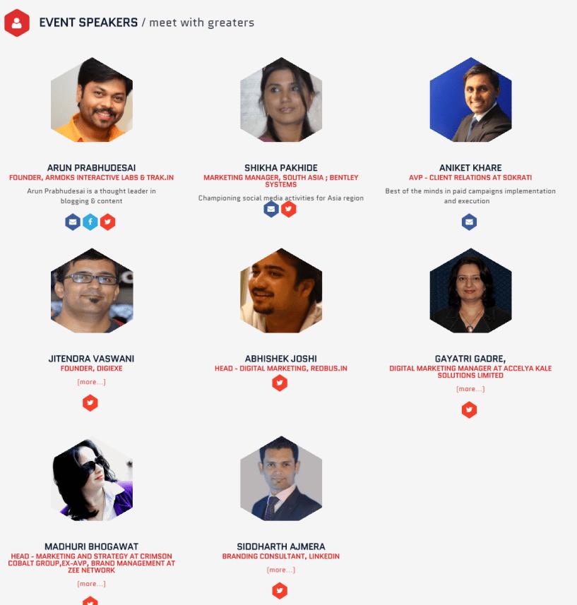 24ADP 24 Hours At Digital Marketers Platform Speakers