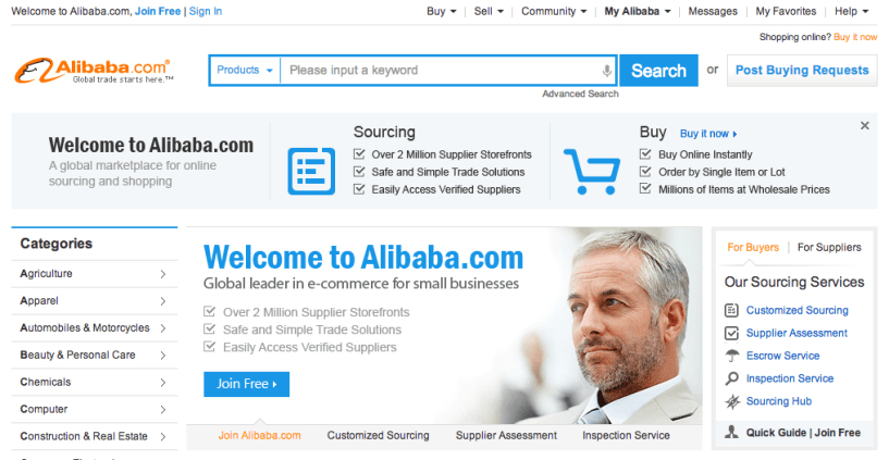 alibaba.com online shopping website