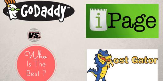 ipage vs godaddy vs hostgator