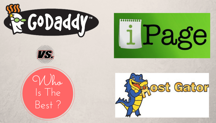 ipage vs godaddy vs hostgator