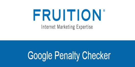 Google Penalty Checker from Fruition