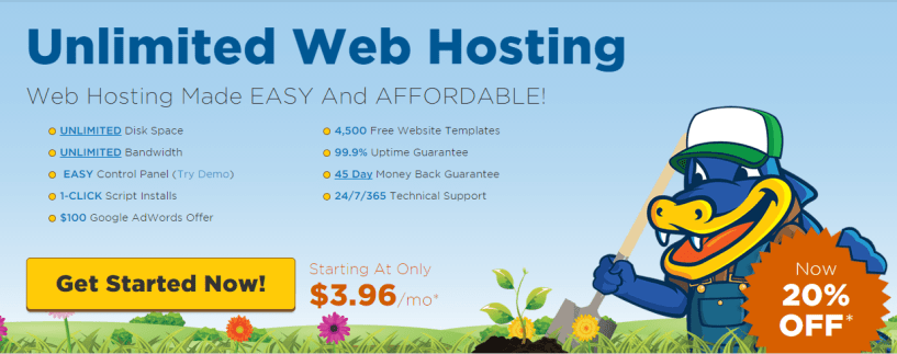 Unlimited Web Hosting, Made Easy For Their Users