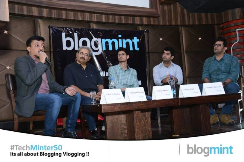 blogmint panel  discussion india meet up  2015