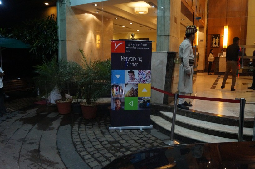 Awesome Payoneer Networking Dinner 31st May 2015 Bangalore