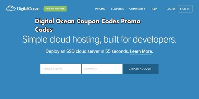 DigitalOcean coupon codes discount codes promo codes