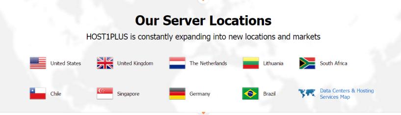 Host1Plus servers