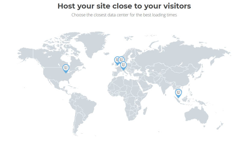 SiteGround Uses Data Centers on 3 Continents - SIteGround Hosting CouponsSiteGround Uses Data Centers on 3 Continents - SIteGround Hosting Coupons